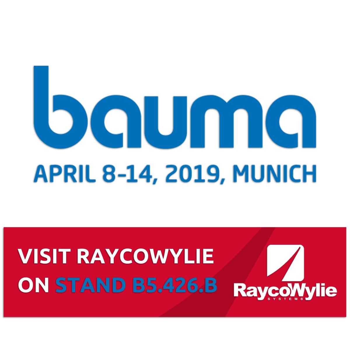 Join Us At BAUMA 2019