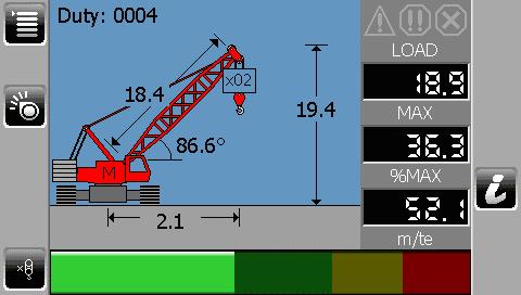 i4300 Crawler Lattice Crane