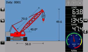 i4507 Crawler Lattice Crane