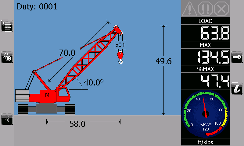 i4507 Crawler Lattice Crane