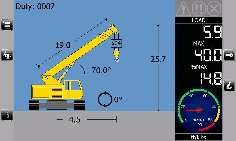 i4507 Crawler Telescopic Crane