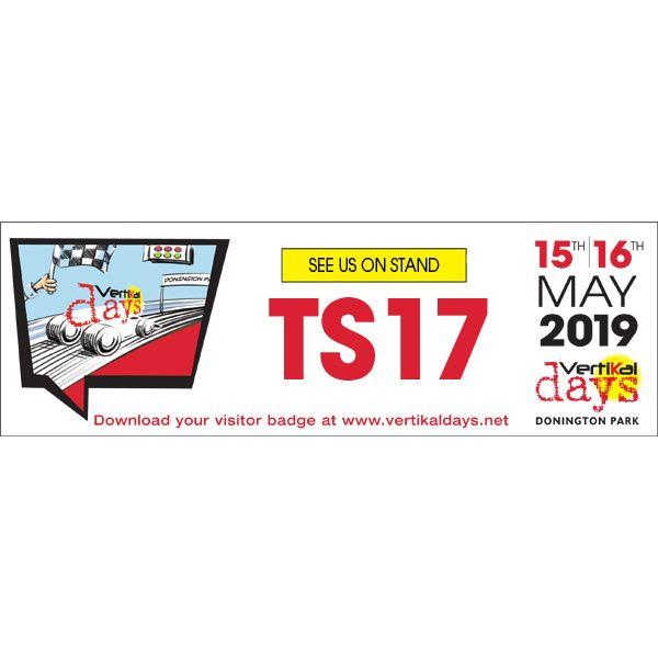 Vertikal Days 2019 Booth TS17 RaycoWylie